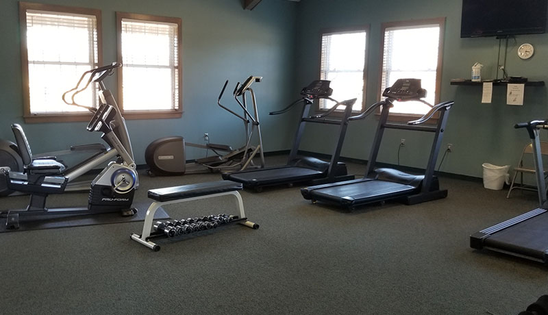 Fitness Center Willowtree Rv Resort Amp Campground
