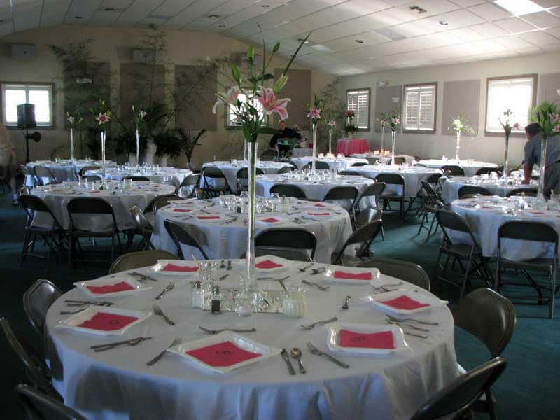 Lakeside Banquet Hall Willowtree Rv Resort Campground Myrtle